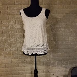 Gorgeous Mossimo lace tank